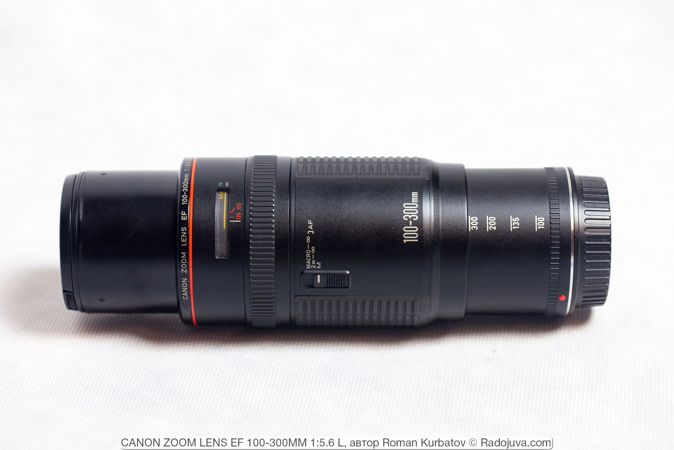 CANON ZOOM LENS EF 100-300MM 1:5.6 L