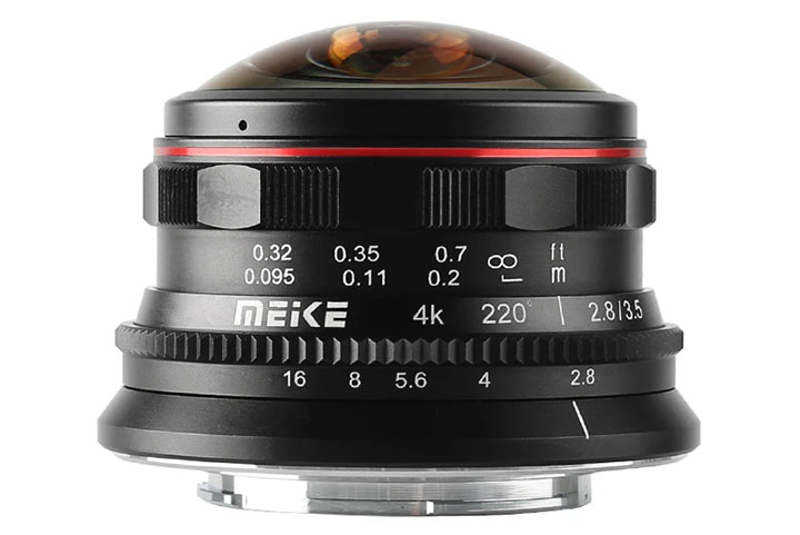 MEIKE 3.5mm 1:2.8 Circular Fisheye