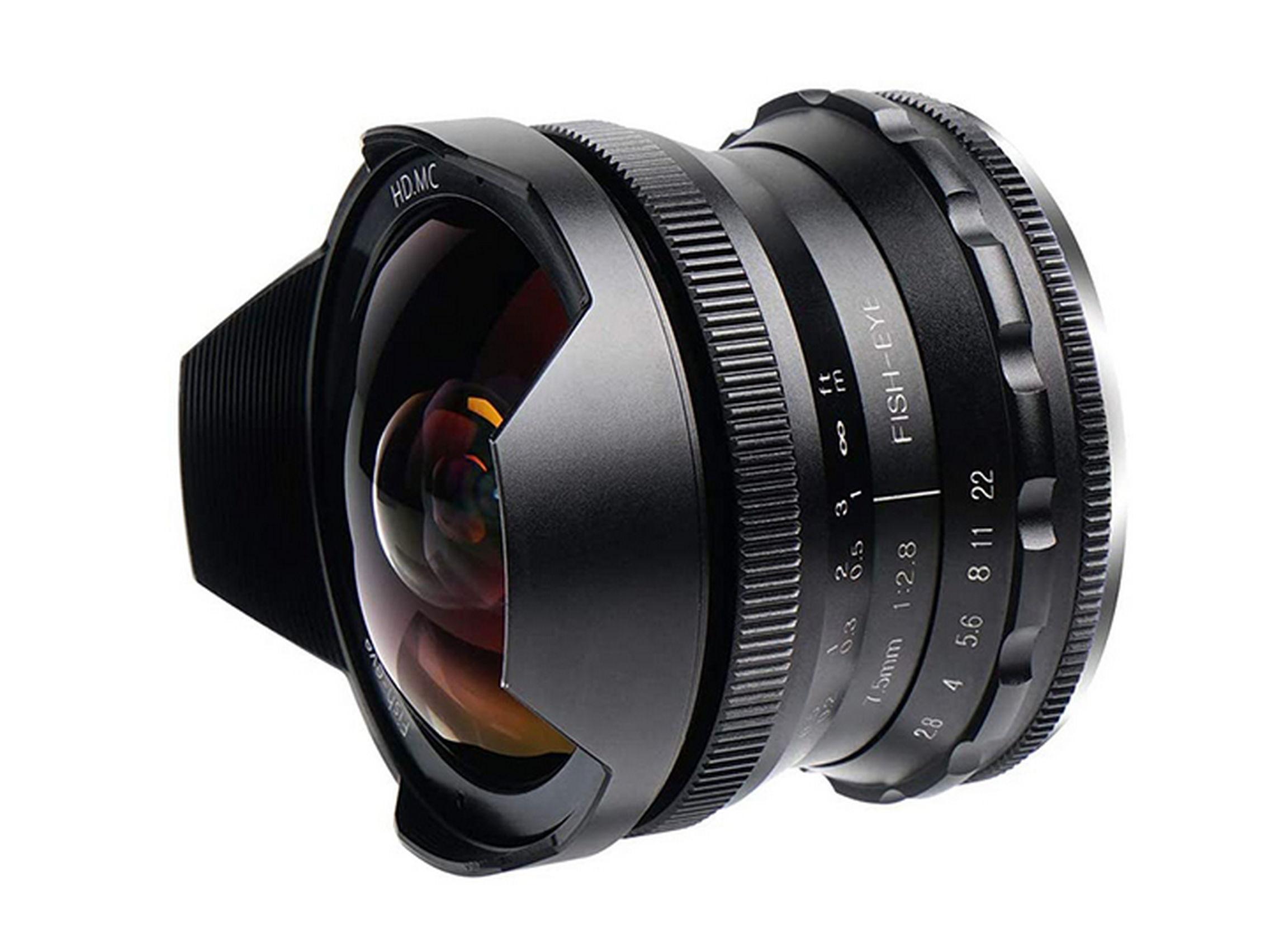 PERGEAR 7.5mm 2.8 HD MC Fish-eye APS-C