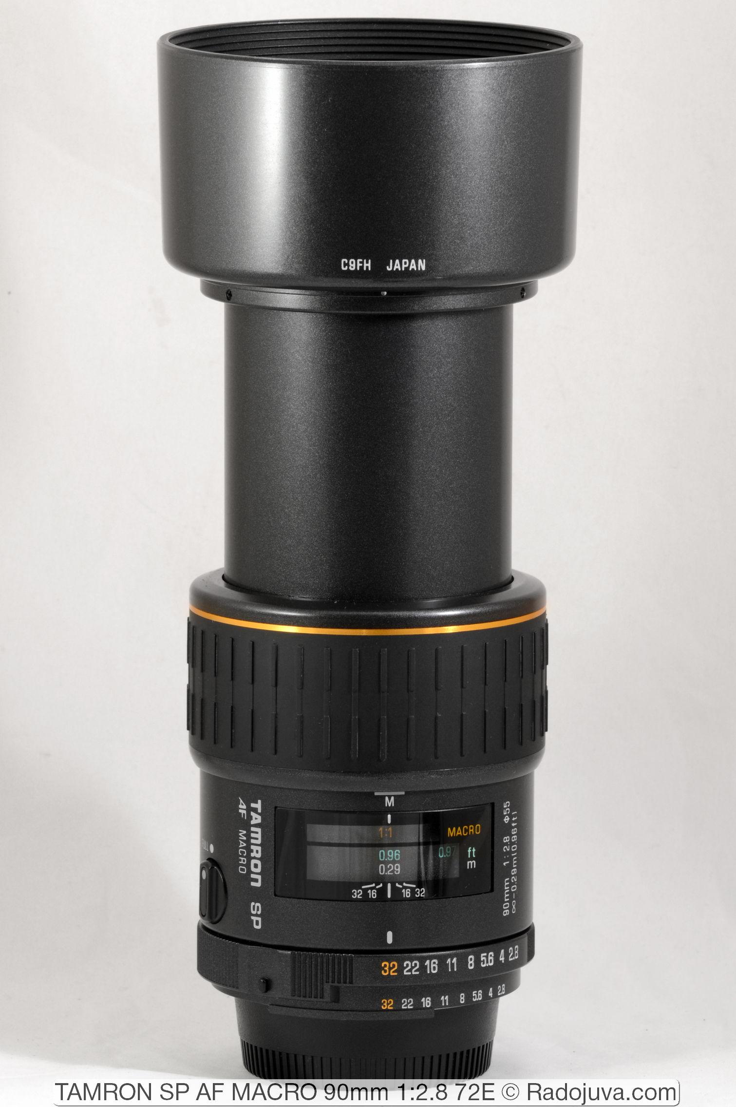 TAMRON SP AF MACRO 90mm 1:2.8 72E