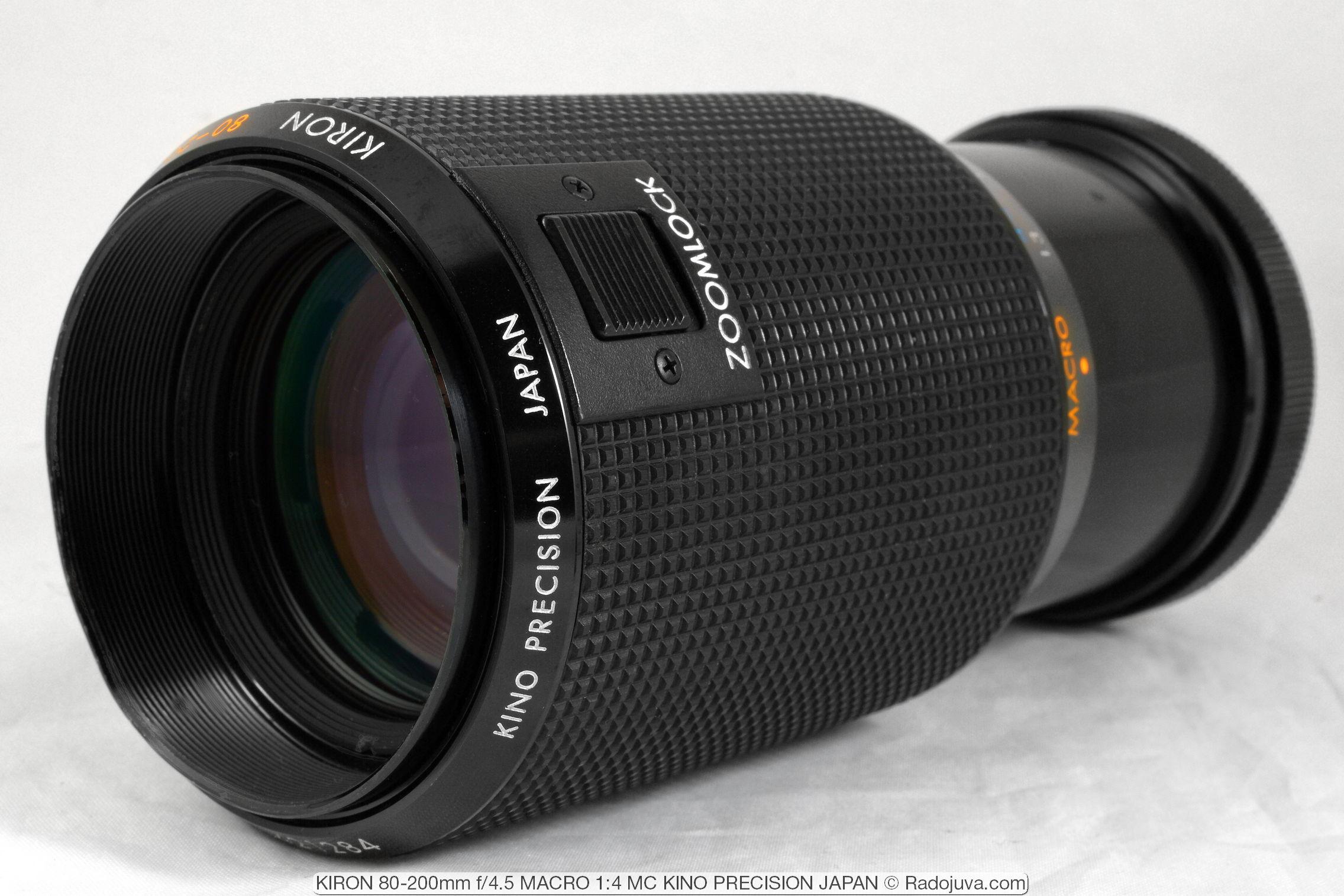 KIRON 80-200mm f/4.5 MACRO 1:4 MC KINO PRECISION