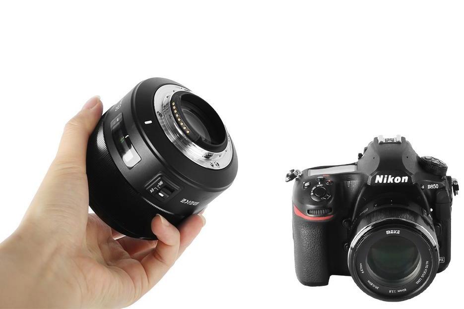MEIKE 85mm 1:1.8 AF для Nikon F