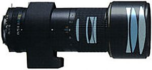 Оптическая схема Nikon 300 4.5 ED IF AI-S