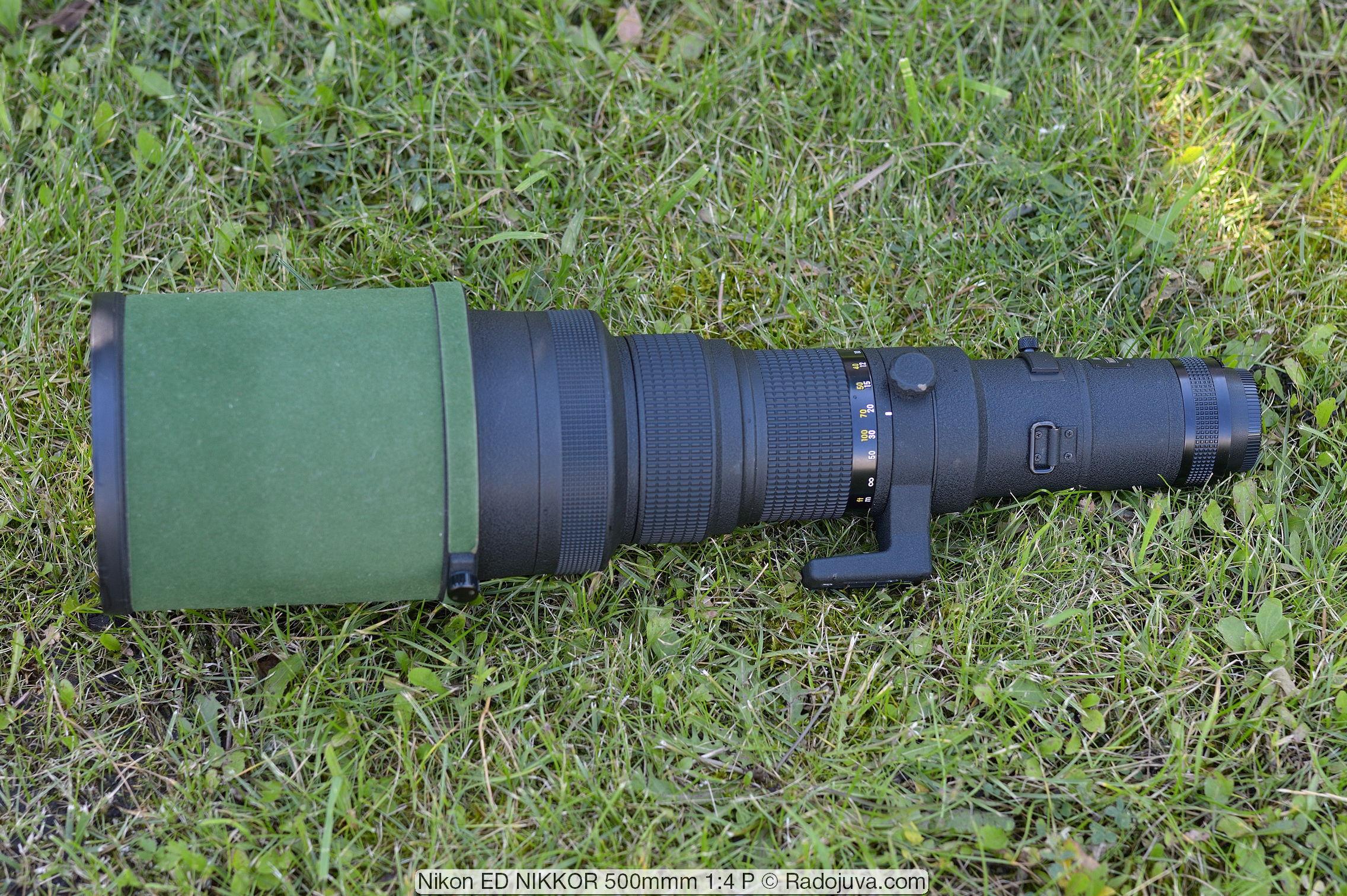 Nikon ED NIKKOR 500mmm 1:4 P