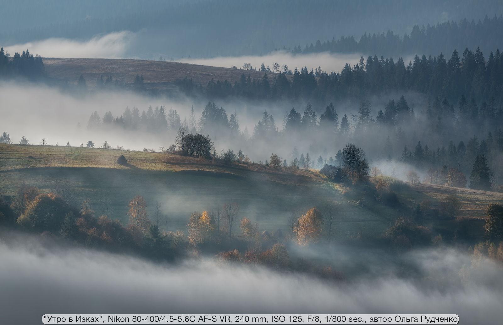 Пример фотографии на Nikon 80-400 4.5-5.6G AF-S VR