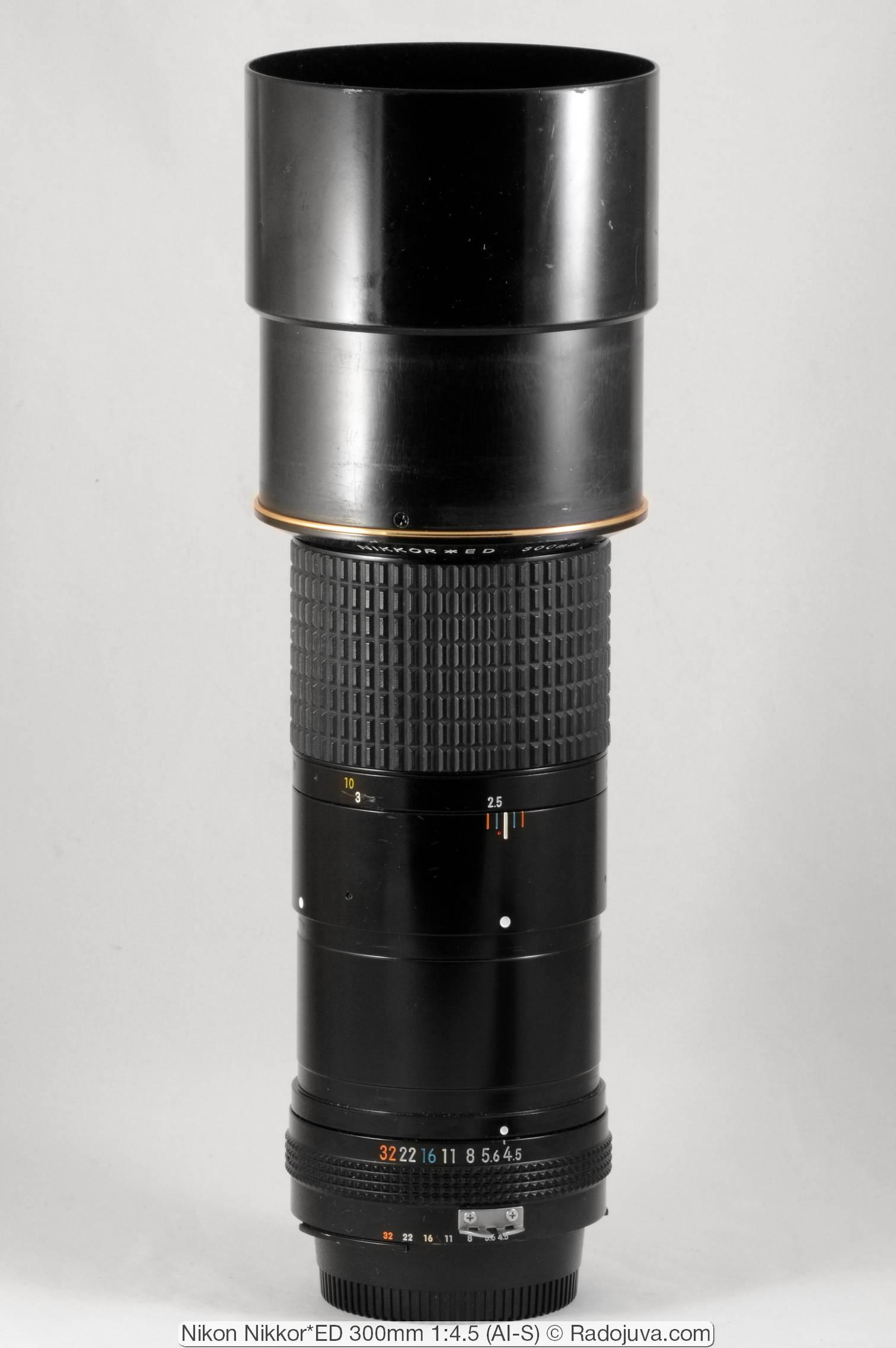 Nikon Nikkor*ED 300mm 1:4.5 (AI-S