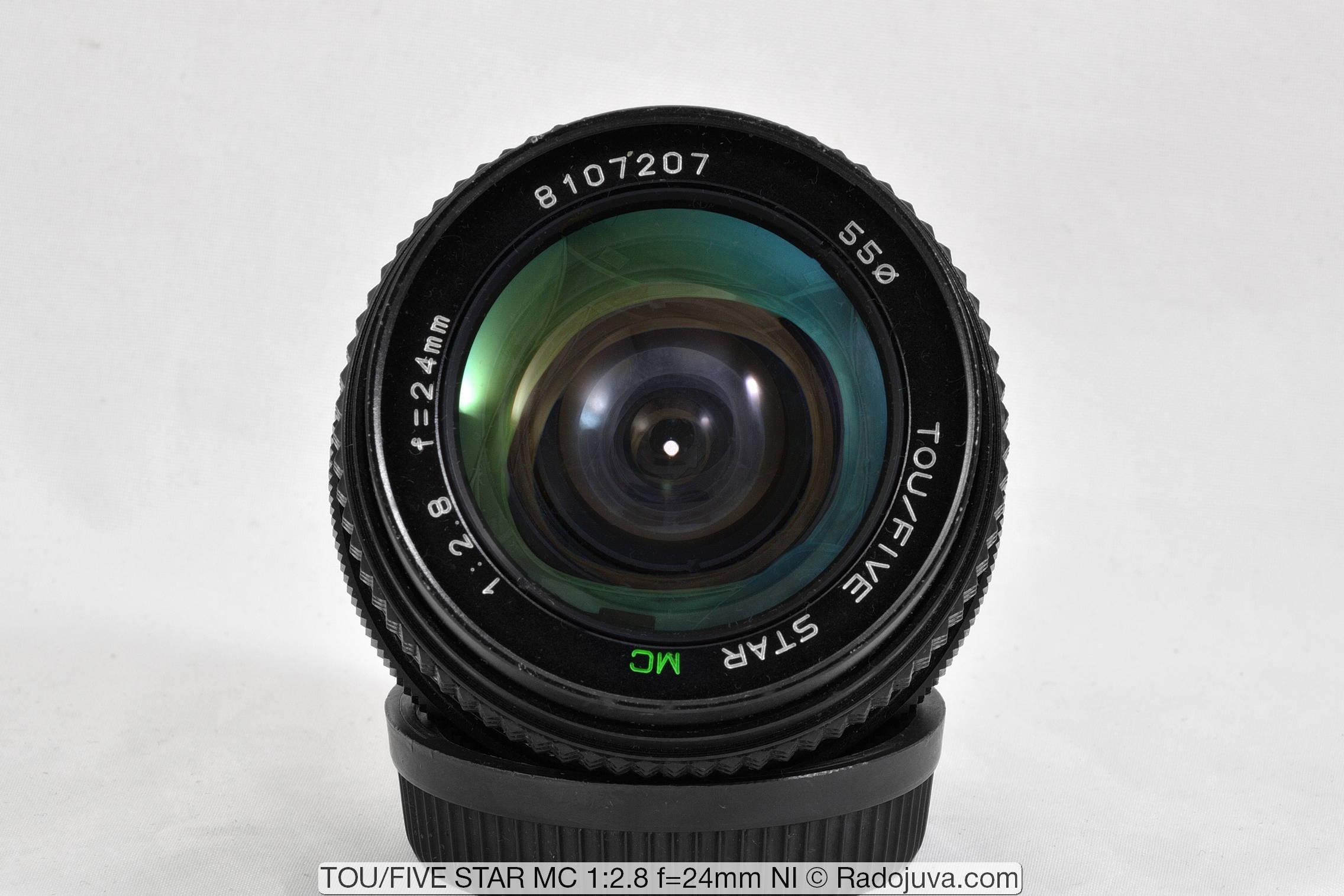 TOU/FIVE STAR MC 1:2.8 f=24mm