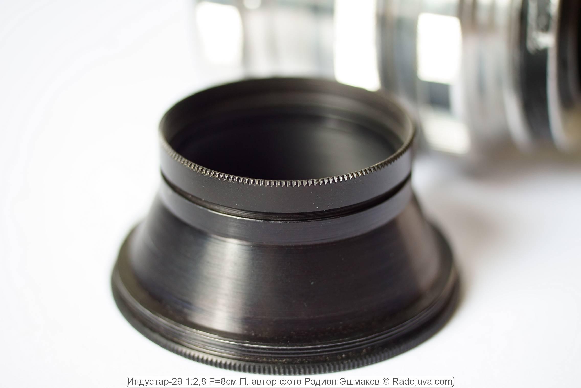 Приспособление для использования фильтров 40.5 мм со вкрученной оправой светофильтра.