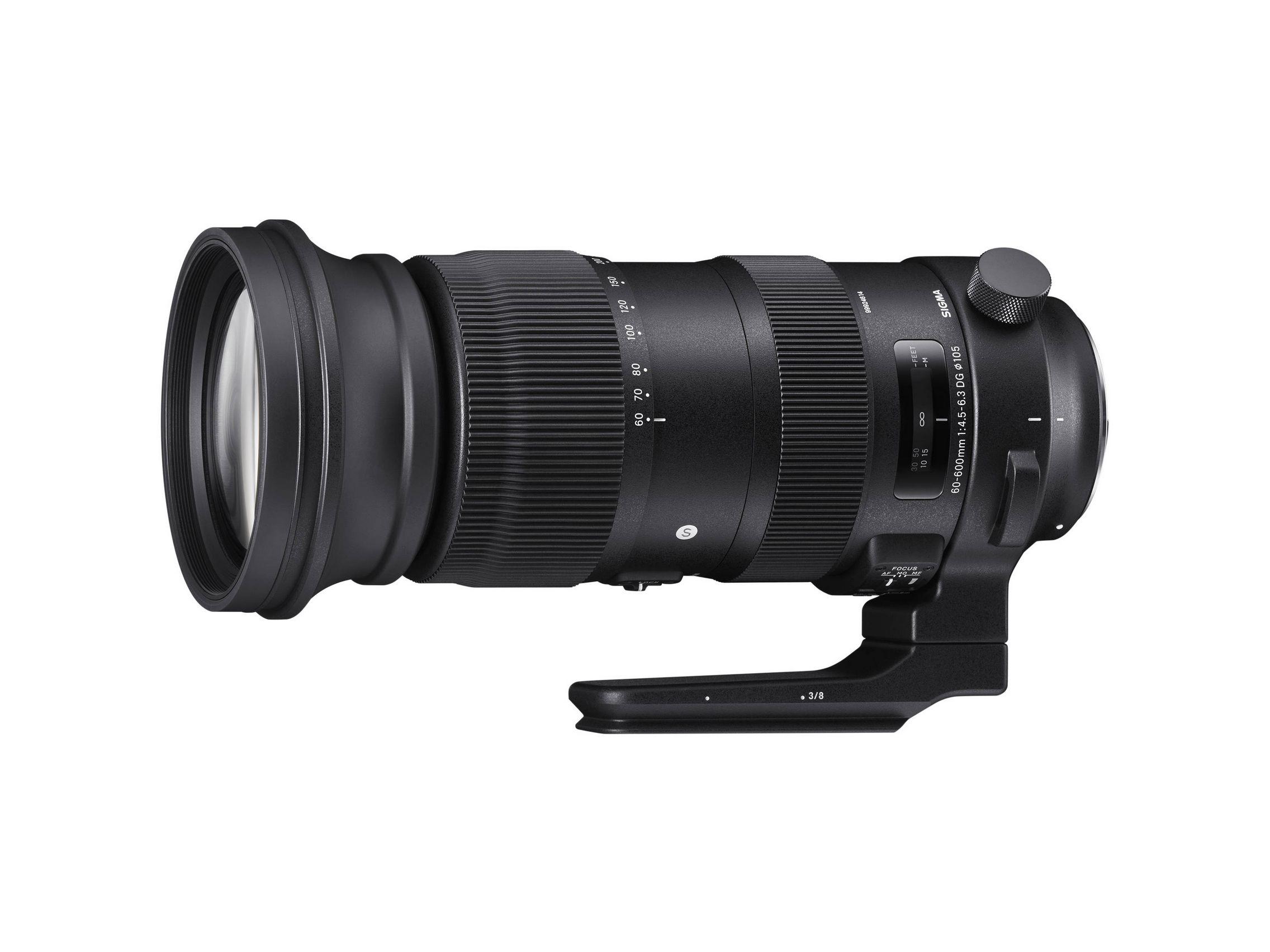 Sigma 60-600mm 1:4.5-6.3 DG S (Sport, OS)