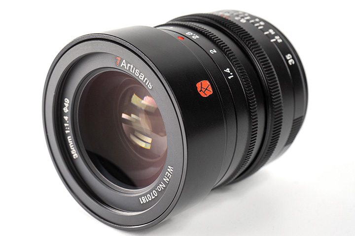 7Artisans 35mm 1:1.4 для Leica M