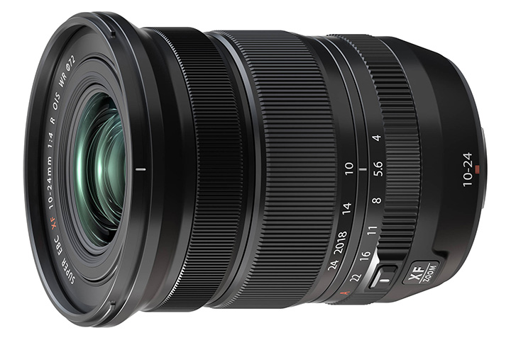 FUJINON ASPHERICAL LENS SUPER EBC XF 10-24mm 1: 4 R OIS WR