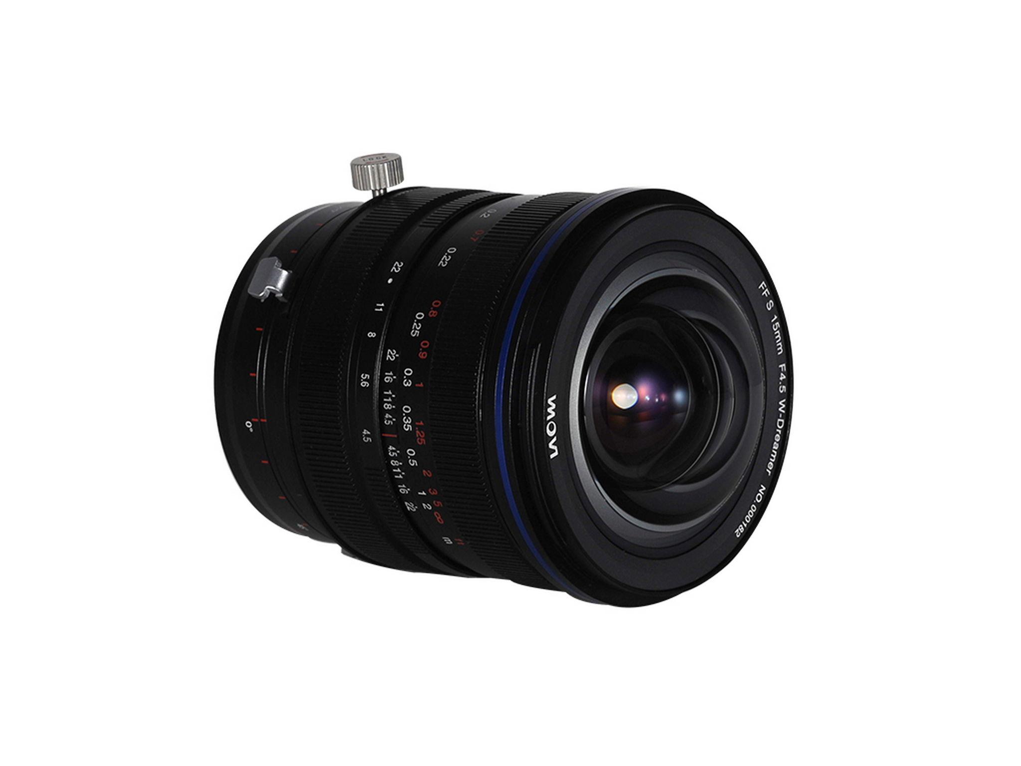 Laowa FF S 15mm F4.5 W-Dreamer (Zero-D Shift)