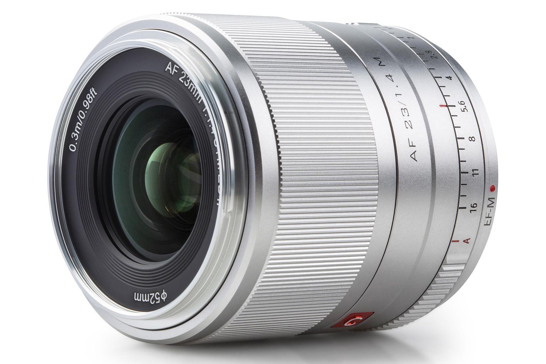 Viltrox AF 23mm 1:1.4 STM ED IF (Модель AF 23/1.4 M для Canon EOS EF-M)