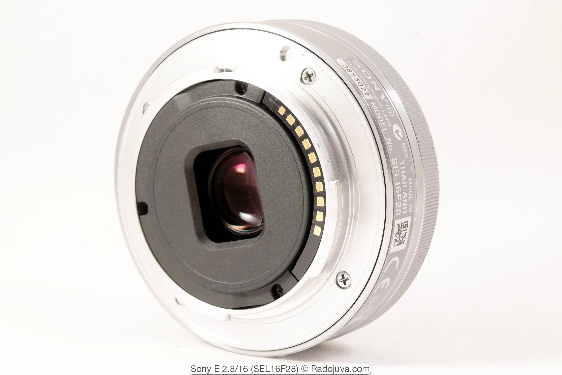 Sony E 2.8/16 (SEL16F28)