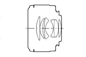optical design MINOLTA MAXXUM AF 50mm 1: 1.7 (22) AF LENS 50