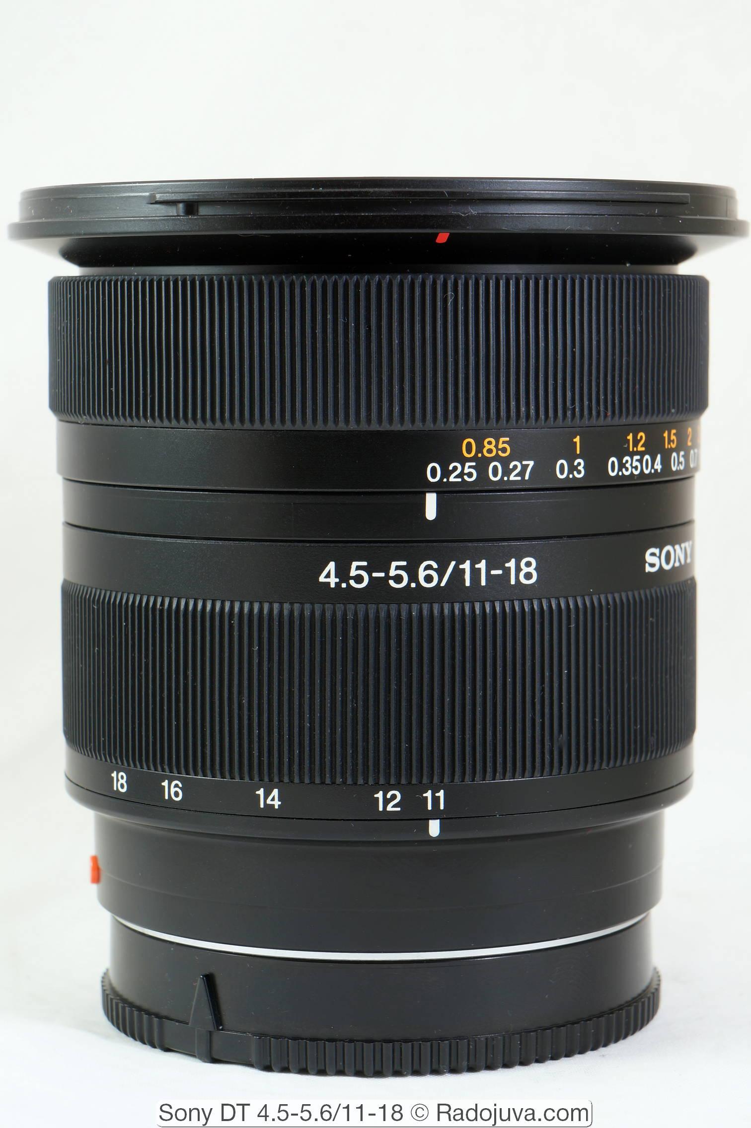 Sony DT 4.5-5.6/11-18