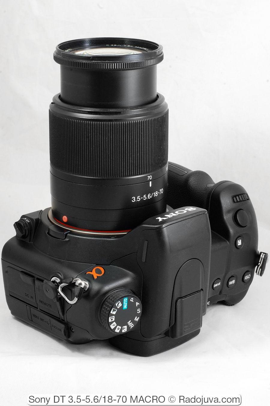 Sony DT 3.5-5.6/18-70 MACRO