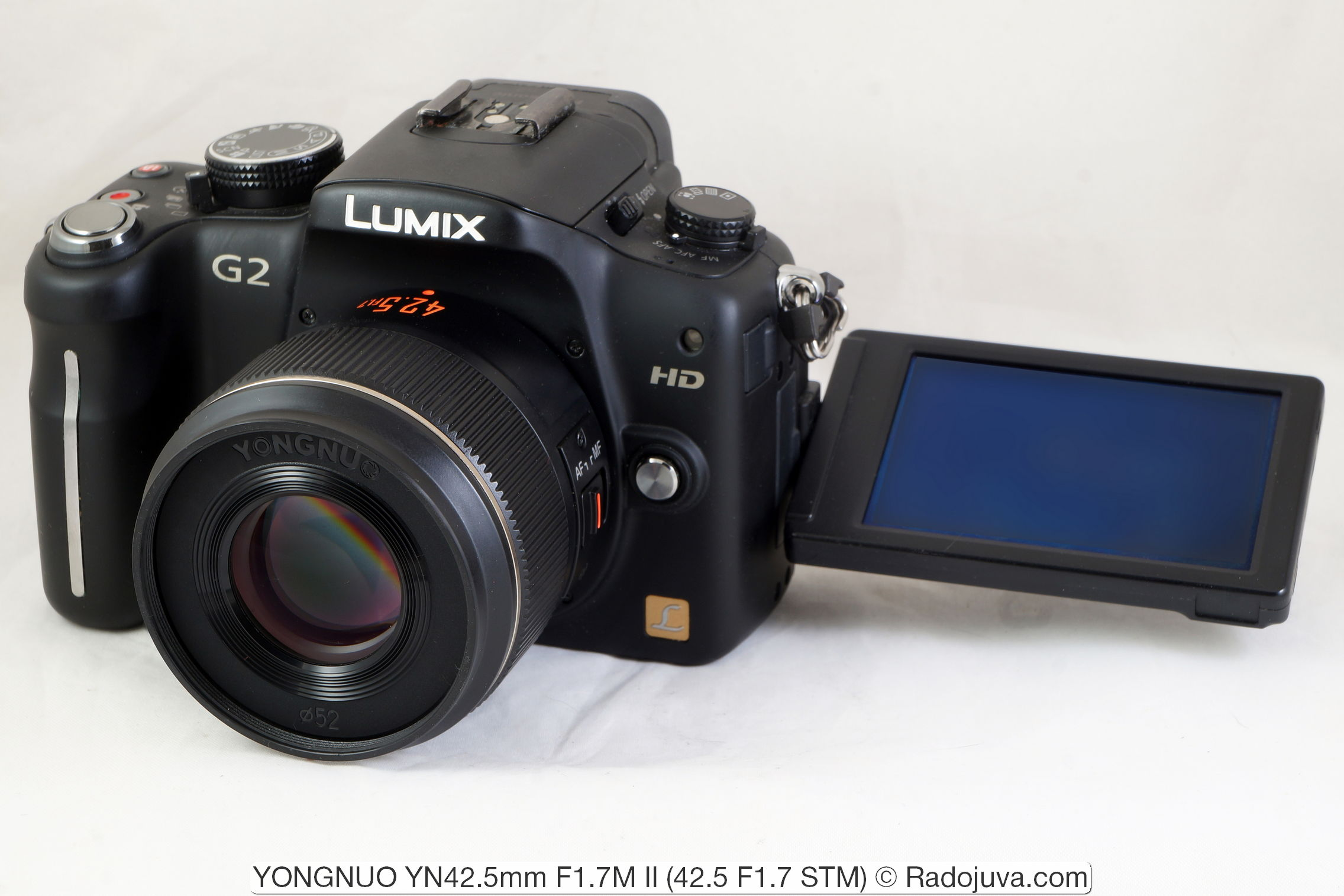 YONGNUO YN42.5mm F1.7M II (42.5 F1.7 STM)