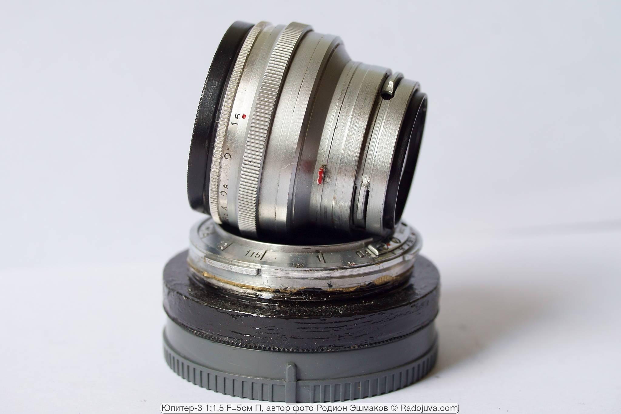 Юпитер-3 для камеры Киев и самодельный переходник Contax RF — Sony E.