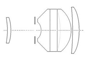 Оптическая схема REXATAR AUTOMATIC 1:2.8 f=100mm