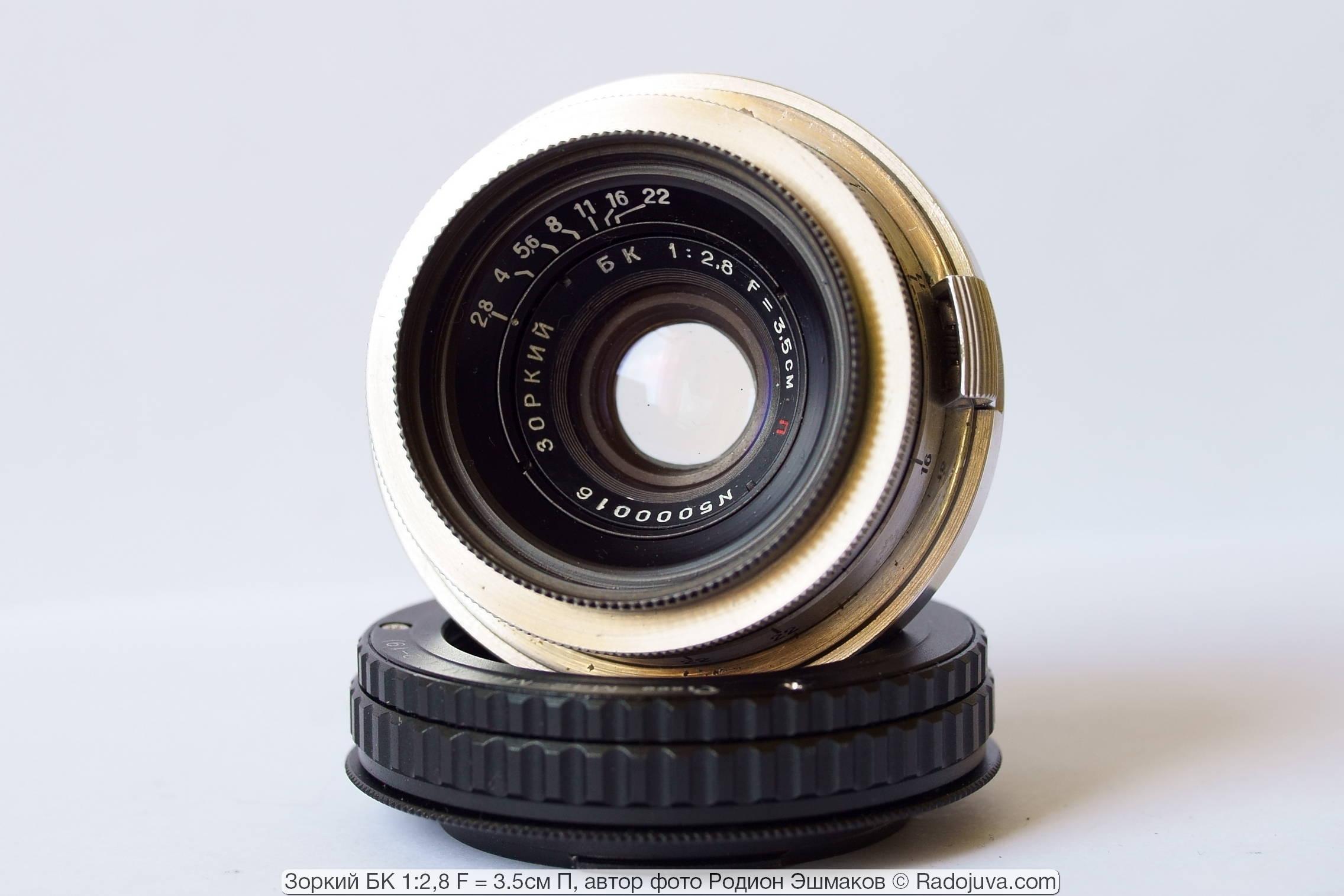 Редкий сегодня прототип известного Юпитер-12 – единственного 35 мм широкоугольного объектива для советских дальномерных камер со сменной оптикой.