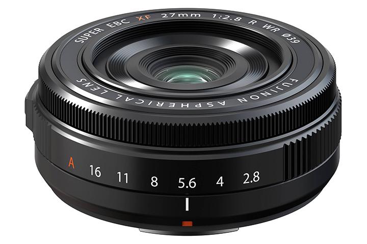 Fujifilm FUJINON ASPHERICAL LENS SUPER EBC XF 27mm 1:2.8 R WR