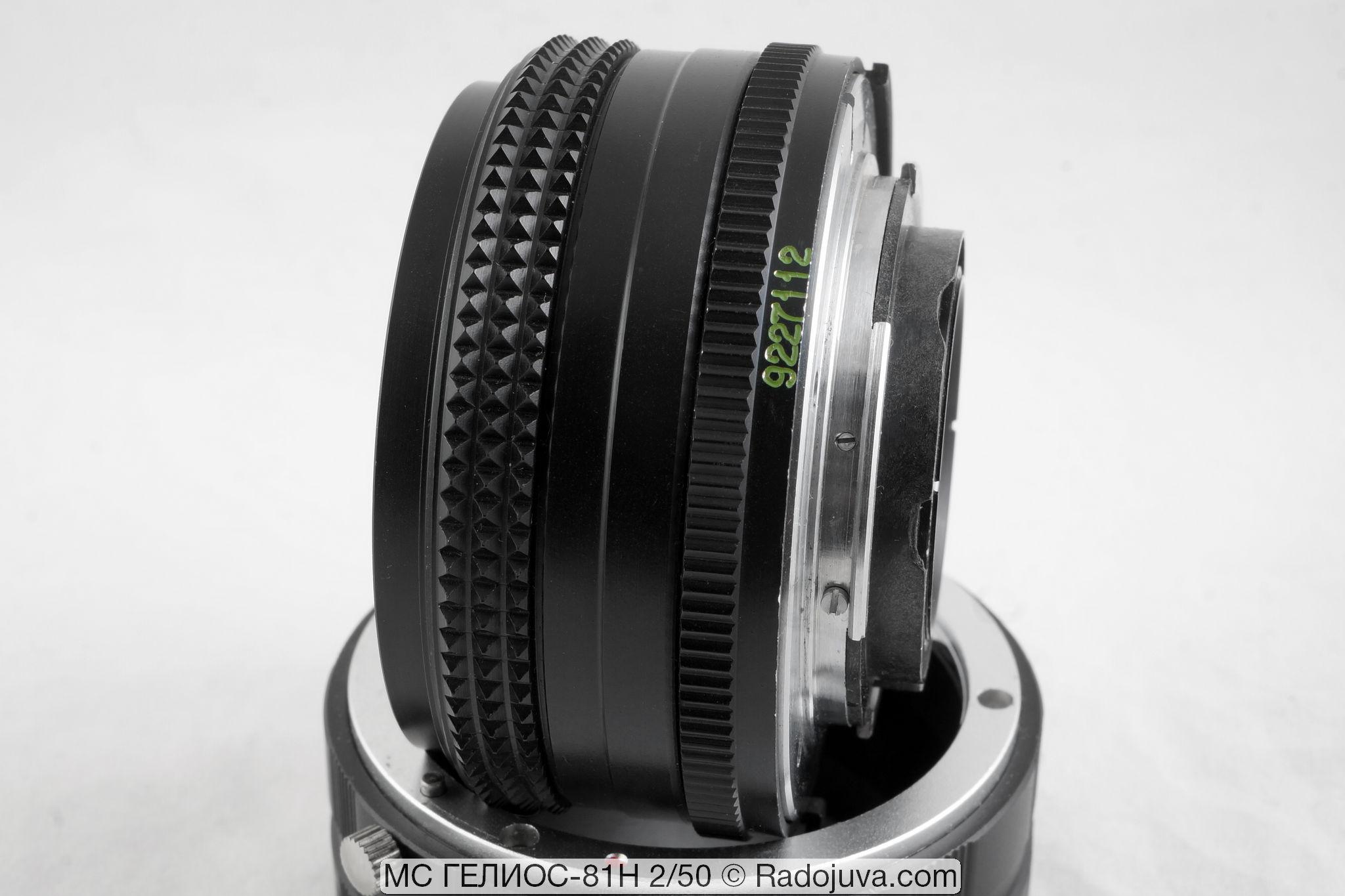 Объектив МС Гелиос-81 Н F 2 50 мм