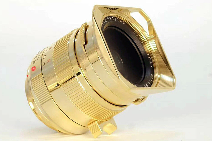TTArtisan 24K GOLD SKIN DJ-OPTICAL 35 / 1.4