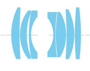 Оптическая схема TTArtisan DJ-OPTICAL 35/1.4