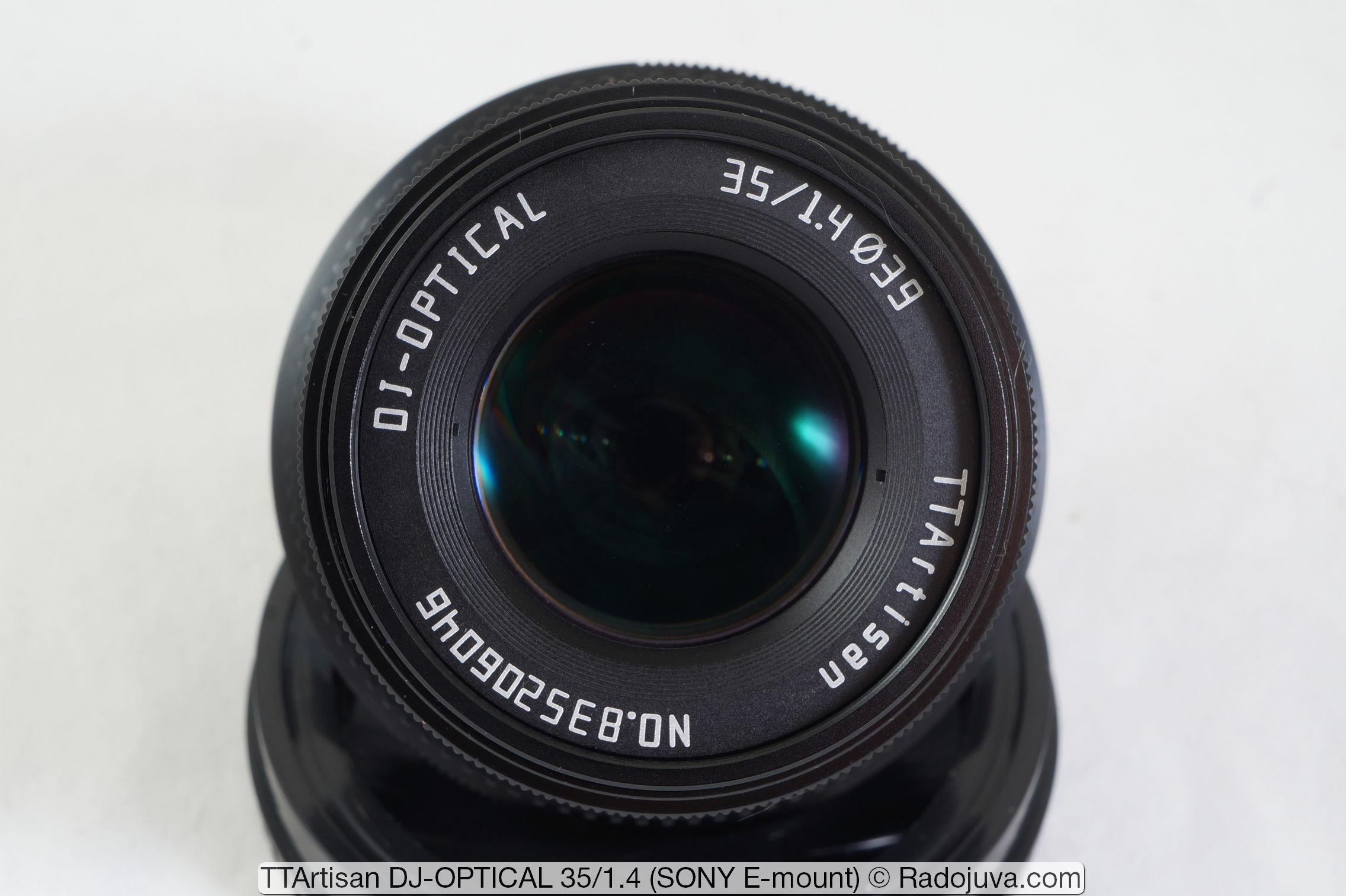 TTArtisan DJ-OPTICAL 35/1.4
