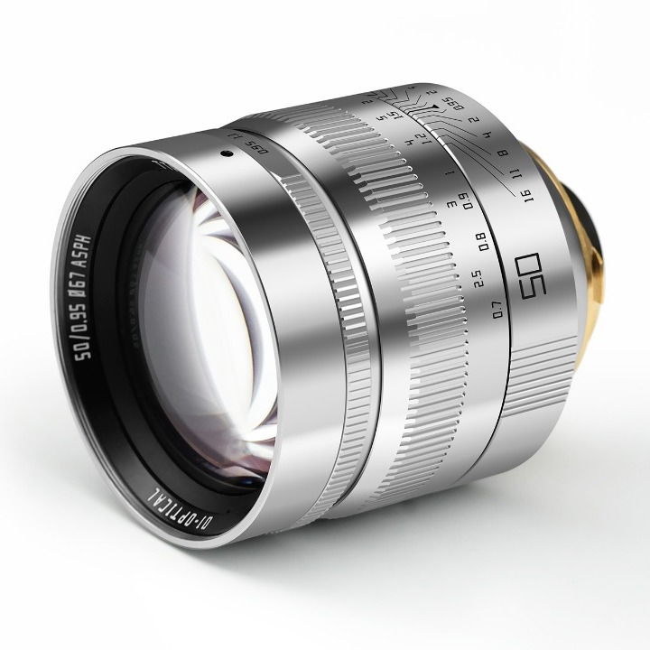 TTArtisan 50mm F 0.95 DJ-OPTICAL ASPH SILVER BLACK