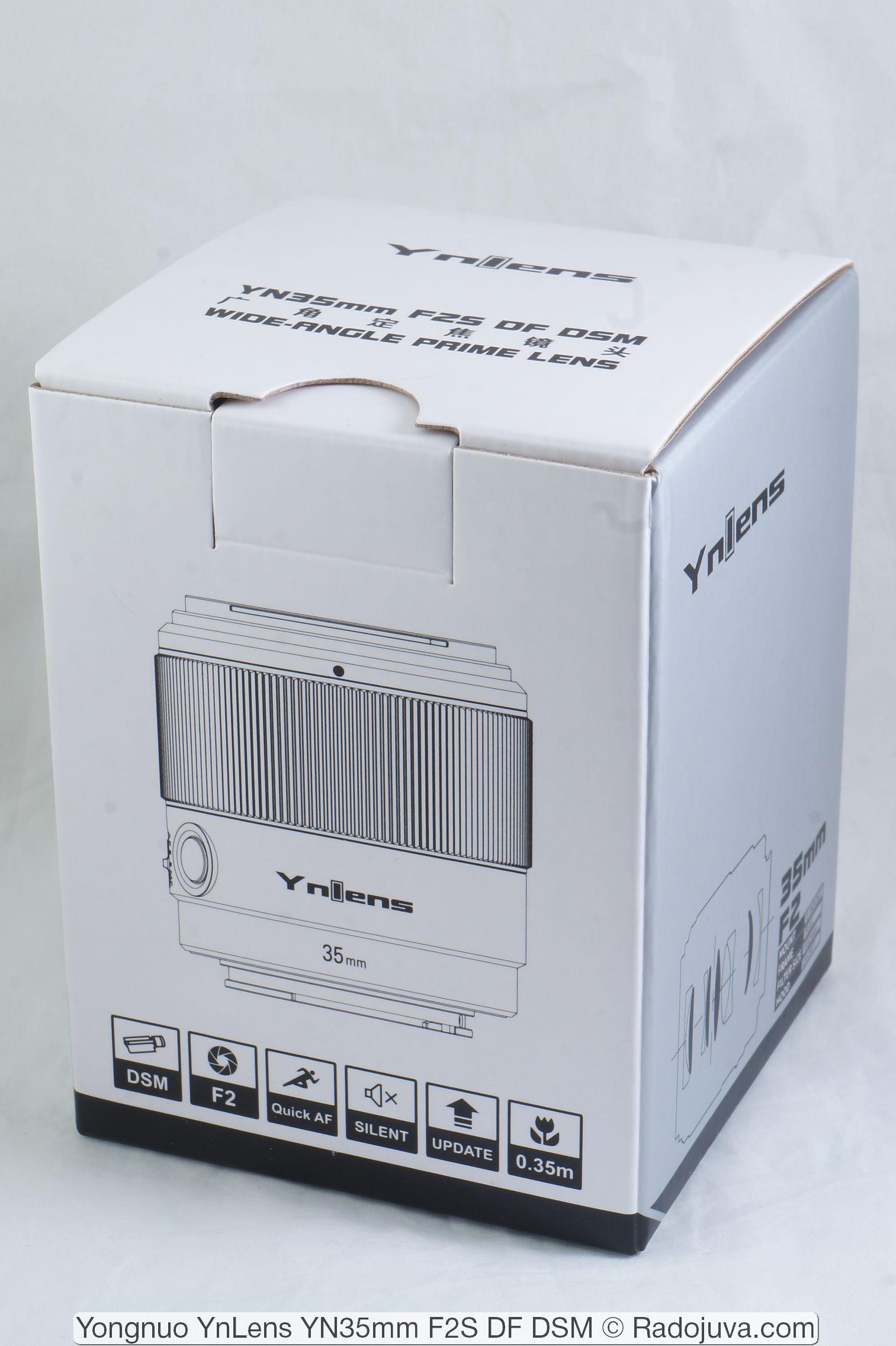 Yongnuo YnLens YN35mm F2S DF DSM (для Sony E/FE)