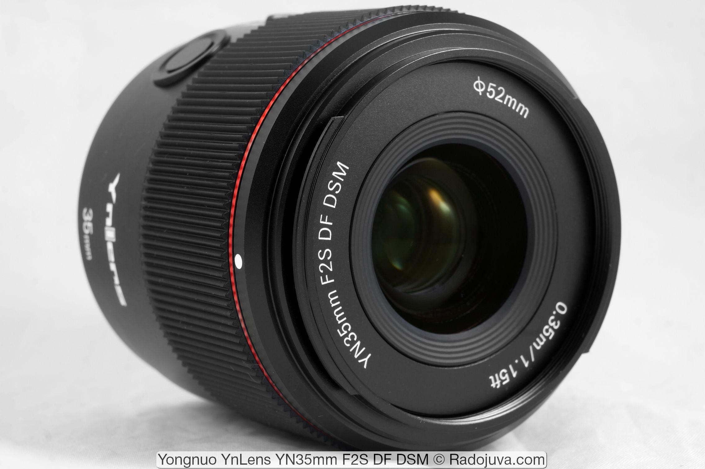 Yongnuo YnLens YN35mm F2S DF DSM