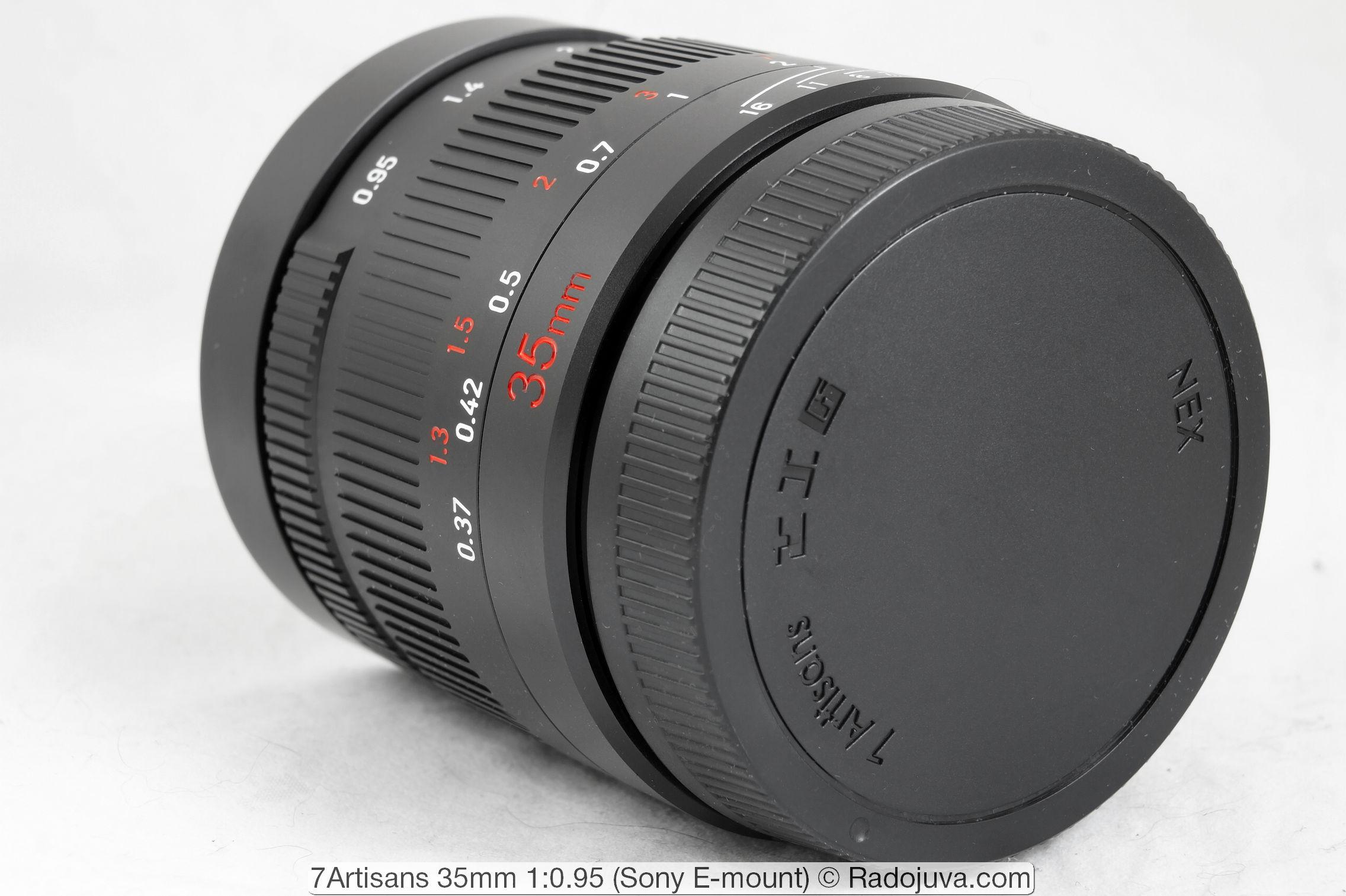 7Artisans 35mm 1: 0.95