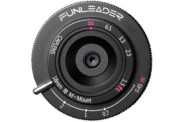 Funleader Caplens 18mm f8 M Mount