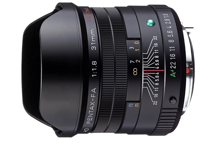 HD PENTAX FA 1:1.8 31mm Limited