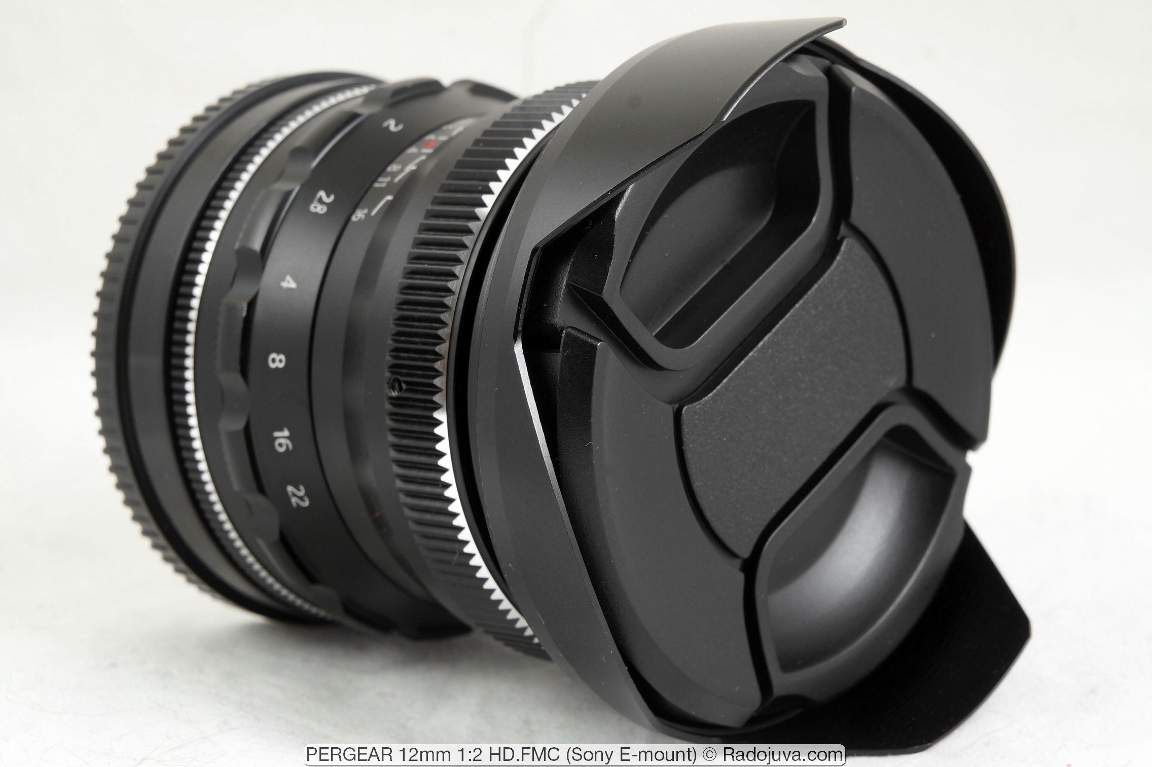 PERGEAR 12mm 1:2 HD.FMC