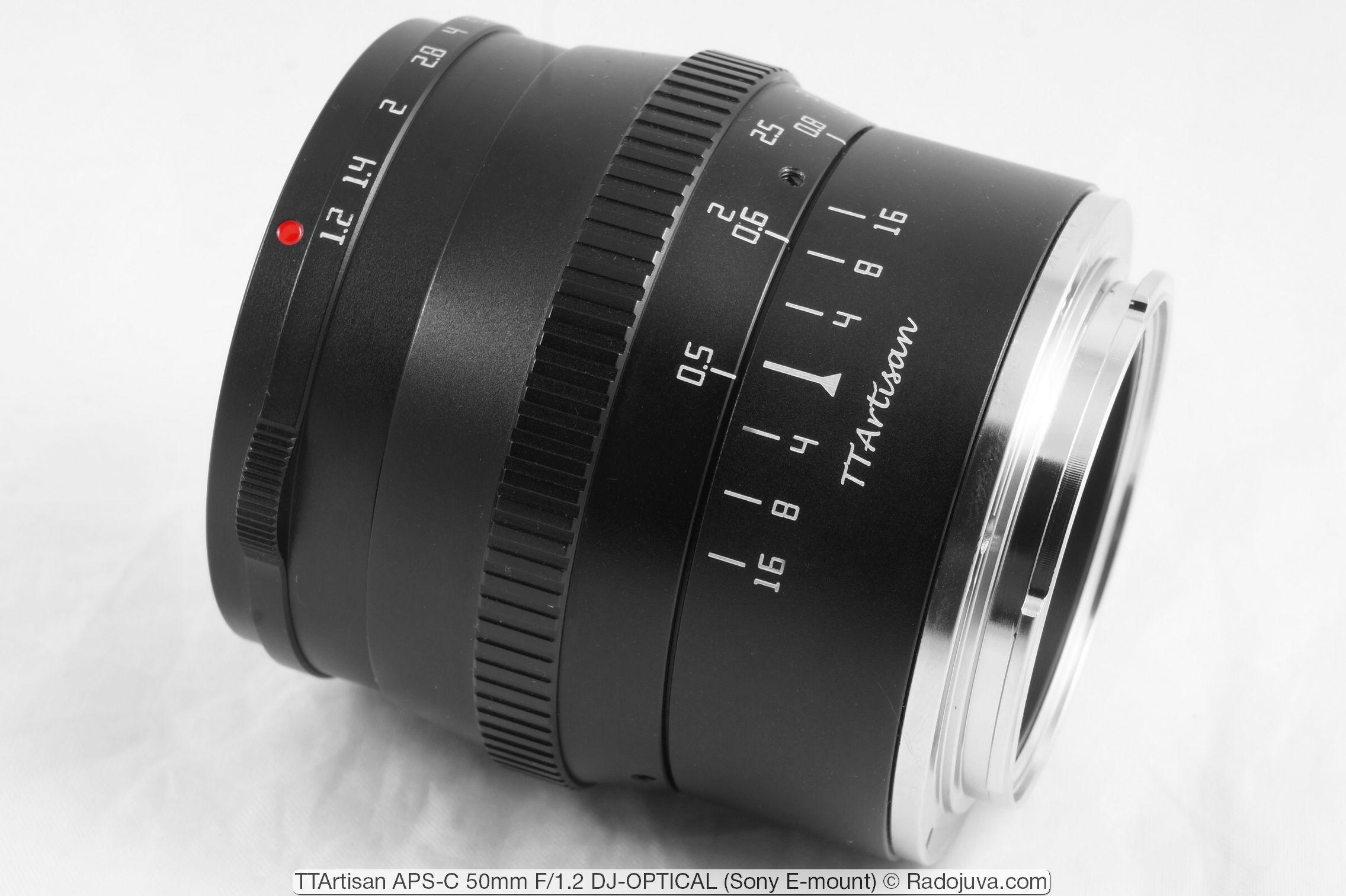 TTArtisan APS-C 50mm F/1.2 DJ-OPTICAL