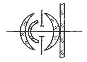 Принципиальная схема объектива Руссар-1 [1, 5]. Это еще не «тот самый» Руссар.