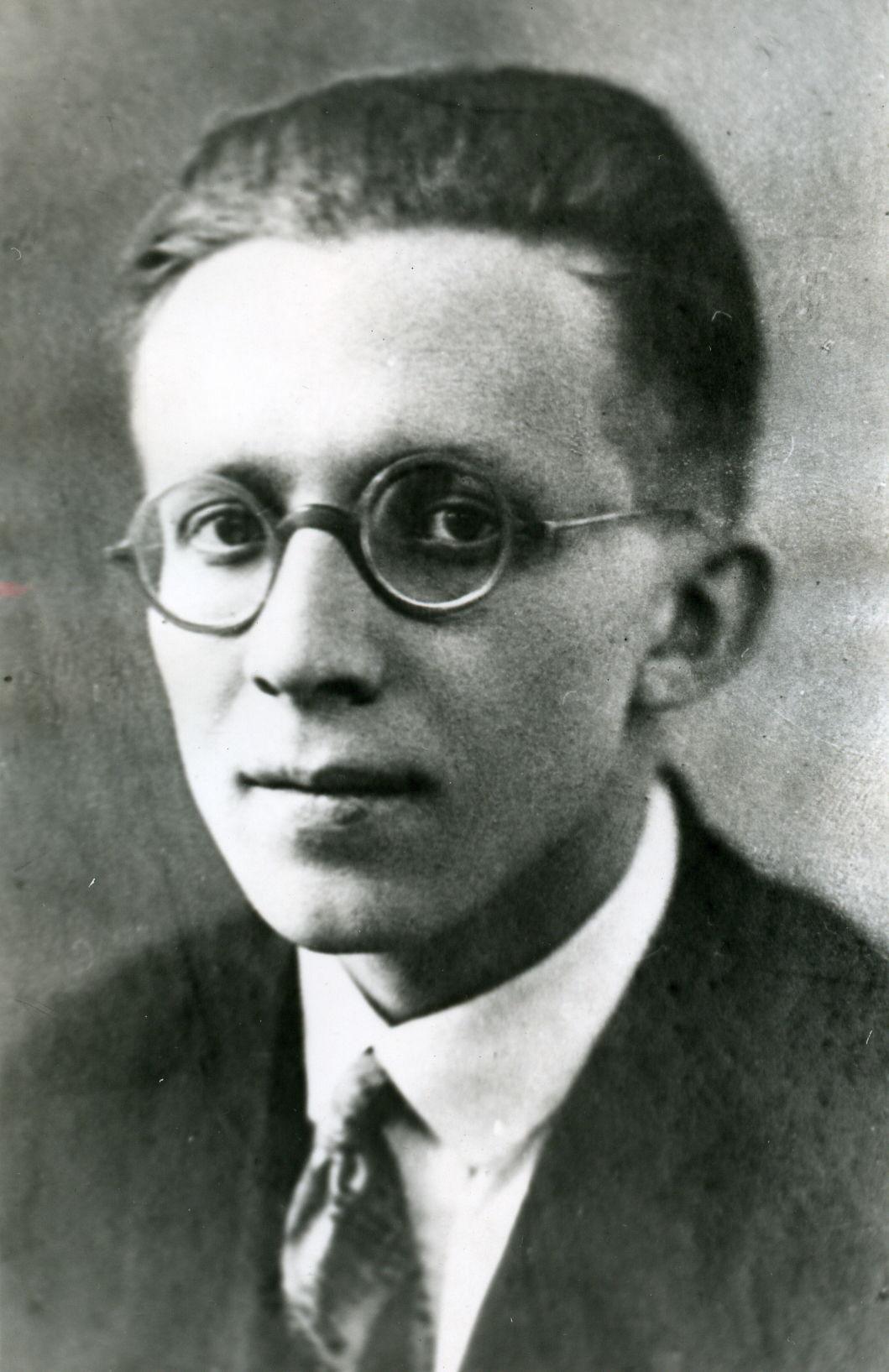 Портрет М.М. Русинова (1909-2004), 1946 год.