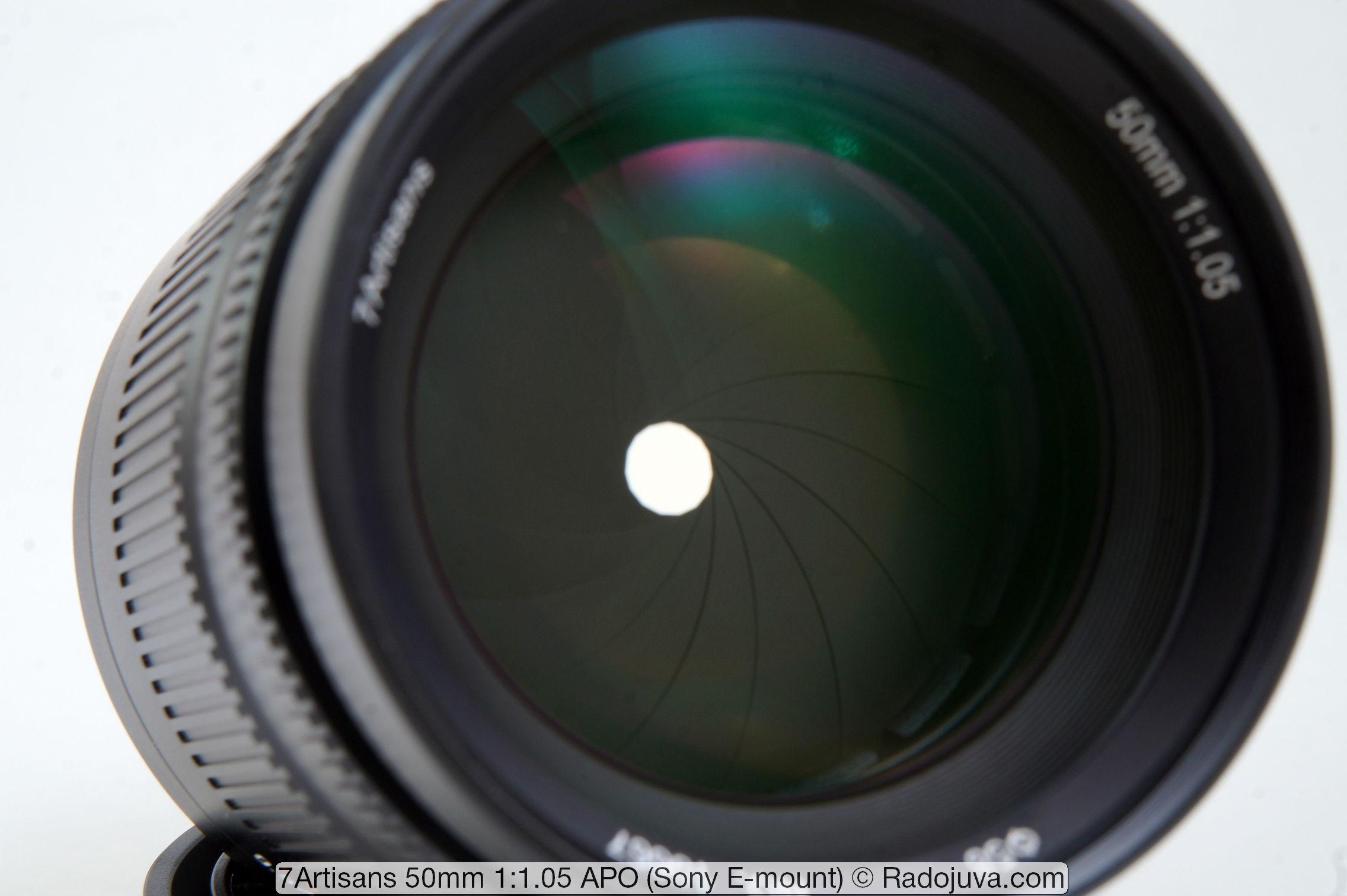7Artisans 50mm 1:1.05 APO