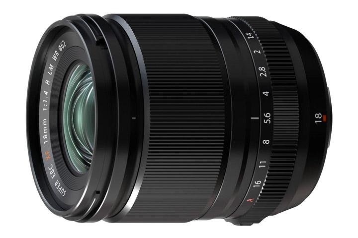 Fujifilm FUJINON ASPHERICAL LENS SUPER EBC XF 18mm 1: 1.4 R LM WR