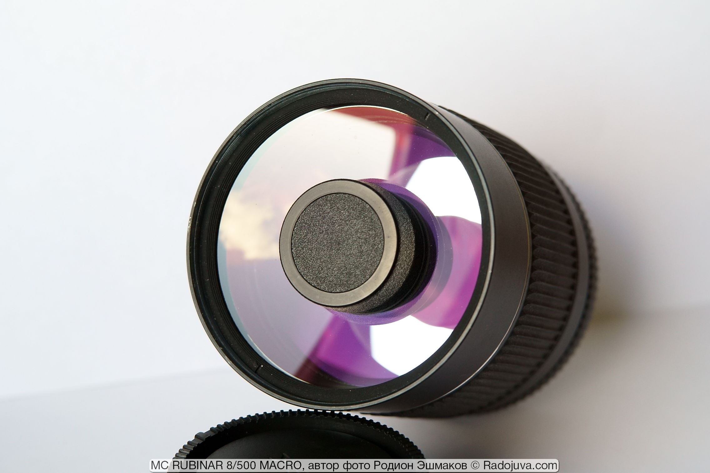 Передний мениск и пробка вторичного зеркала Рубинар 500/8.