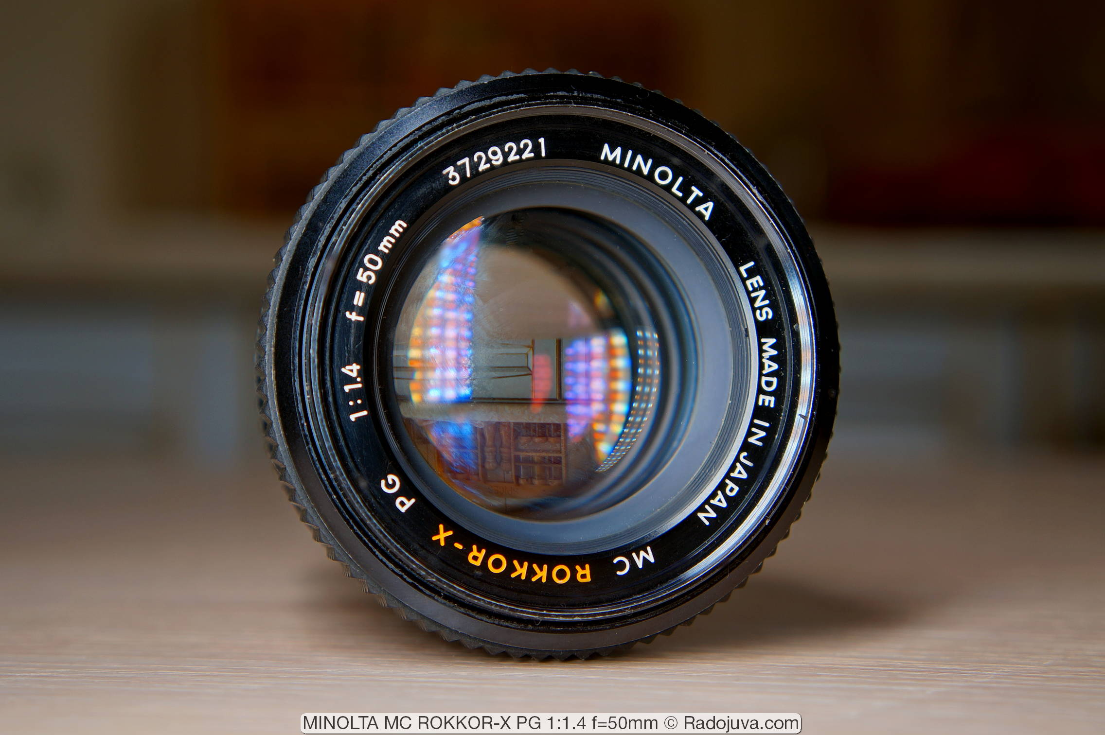 MINOLTA MC ROKKOR-X PG 1:1.4 f=50mm
