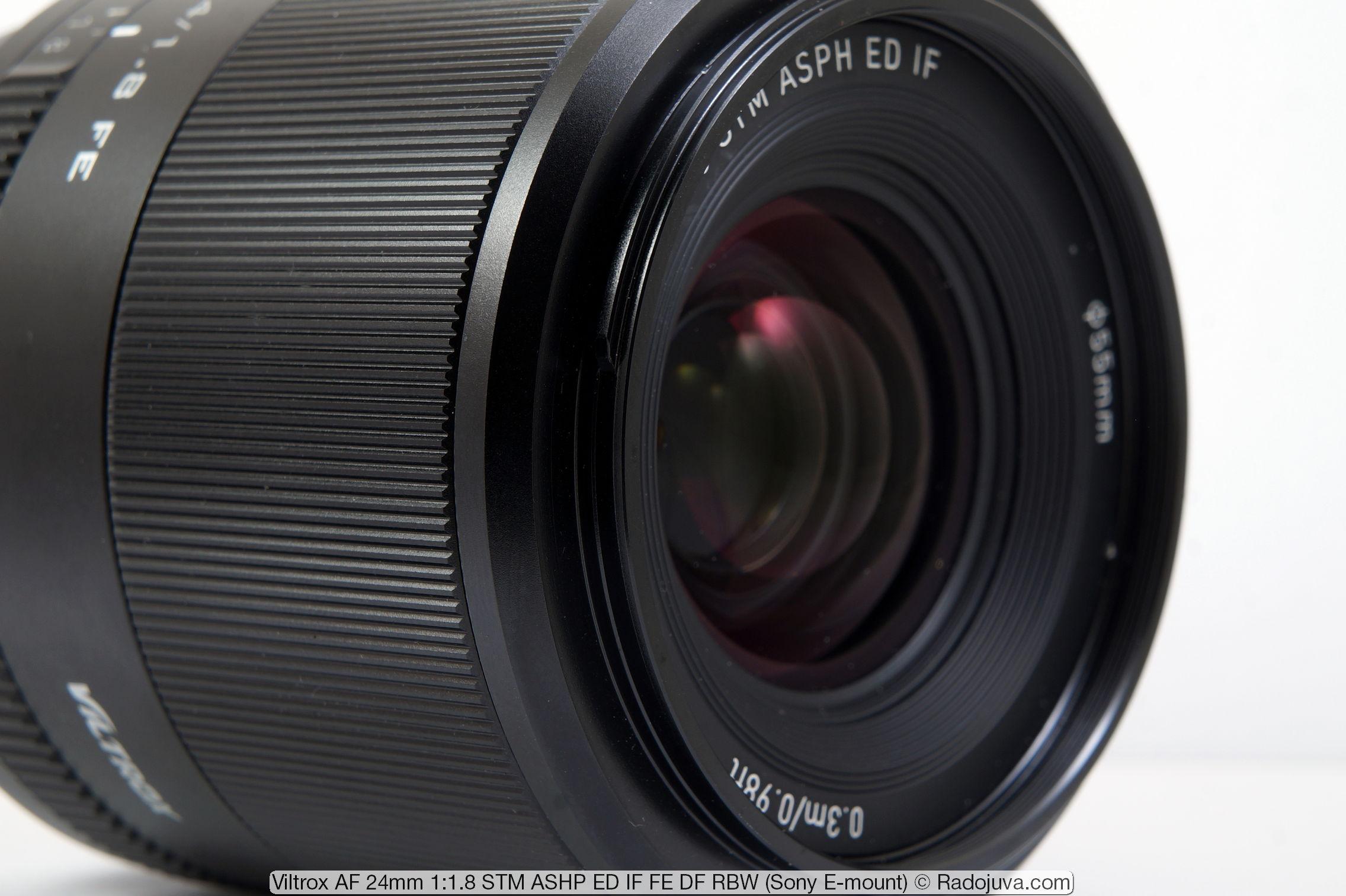 Viltrox AF 24mm 1: 1.8 STM ASHP ED IF FE DF RBW
