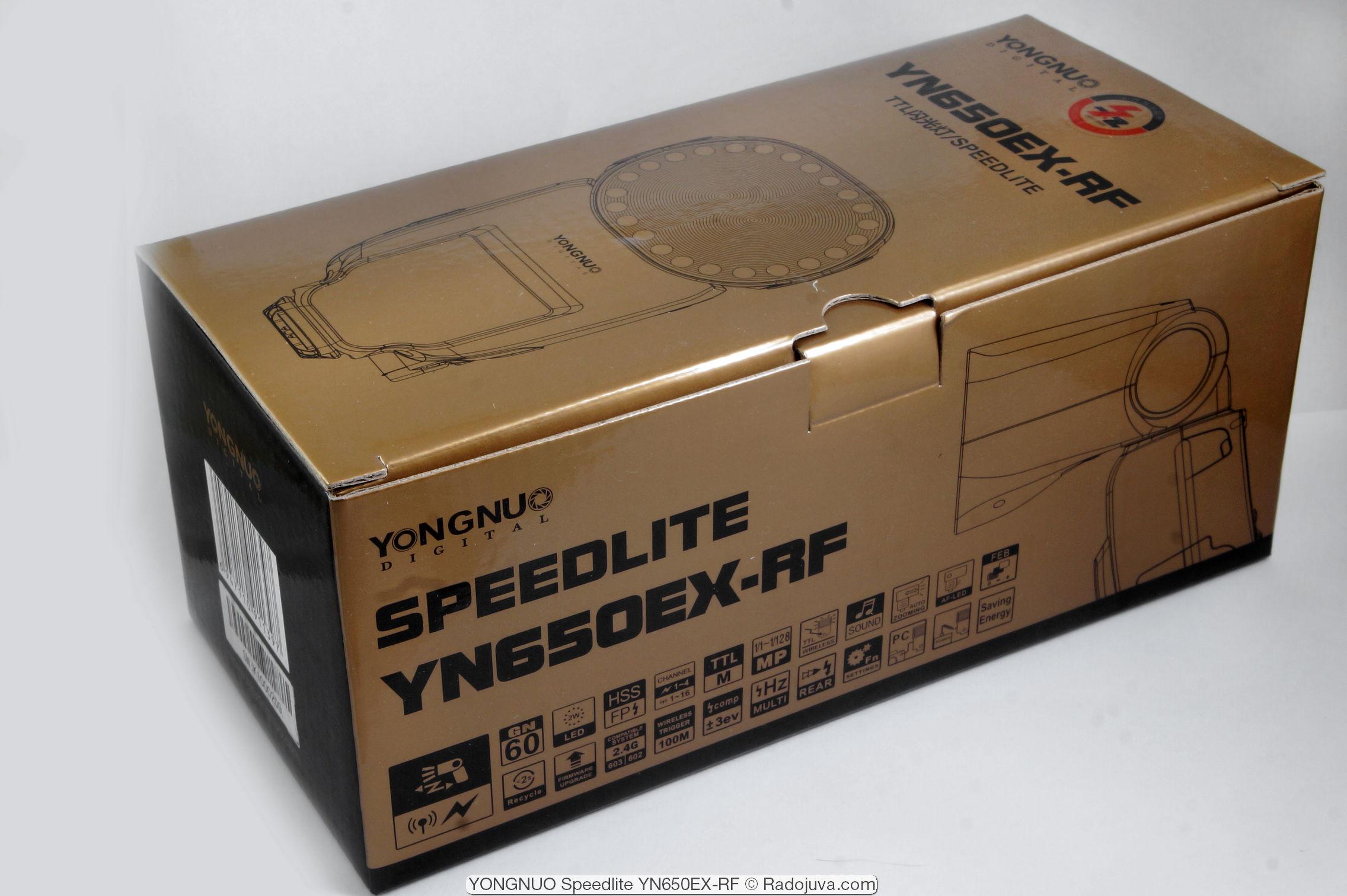 YONGNUO Speedlite YN650EX-RF