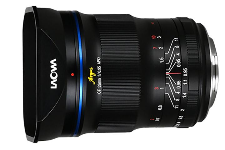 Laowa Argus CF 33mm f/0.95 APO
