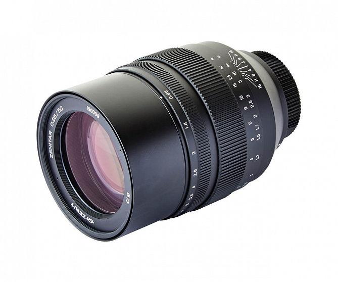 Фото Зенитар 50/0.95 со страницы объектива в магазине zenit.photo.