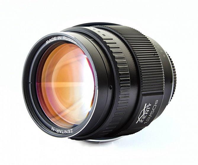 Фото Зенитар 50/1.2s со страницы объектива в магазине zenit.photo.