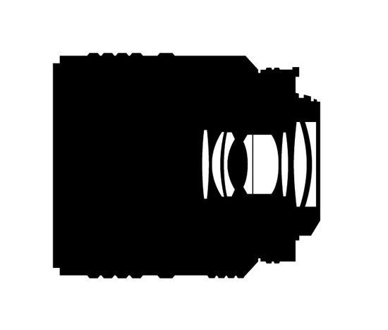 Оптическая схема Nikon Micro-Nikkor 60/2.8 D.